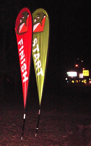 MM start and finish flags